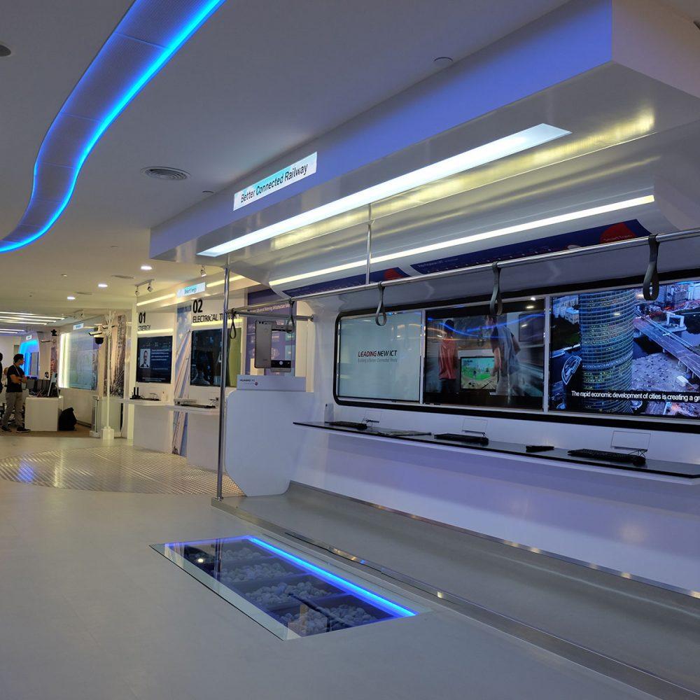 Huawei CSIC office at Intermark Hotel. Kuala Lumpur, Malaysia