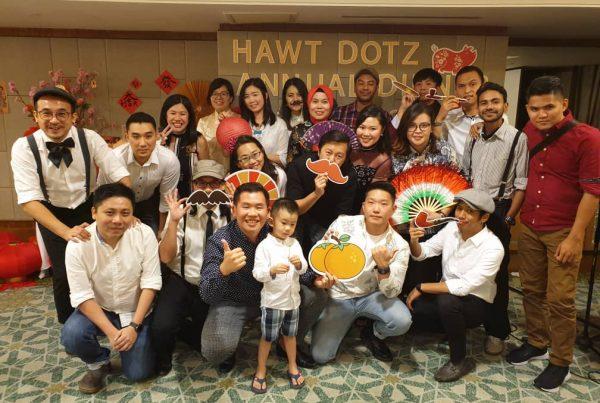 Hawt Dotz team annual Chinese New Year dinner at Mandarin Oriental Kuala Lumpur